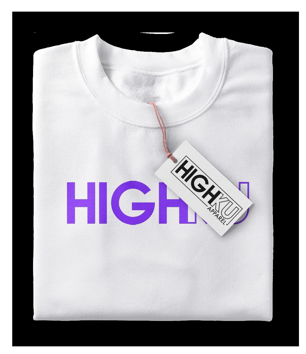 HIGHKU Shirt Mockup
